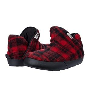 The North Face   Checked plaid wool booties NWT